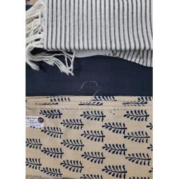Dress Material-Leaf Print...