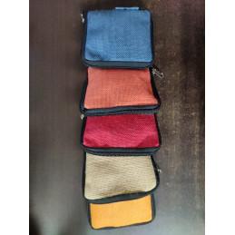 Jute Pouch Bag Mix Color