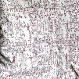 Handmade Cloth Varli Print