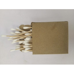 Bamboo Ear Buds (80 pcs)