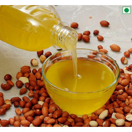 Groundnut Oil ( wooden...